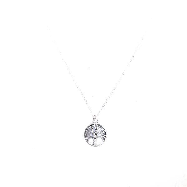 Tree of life charm chain necklace