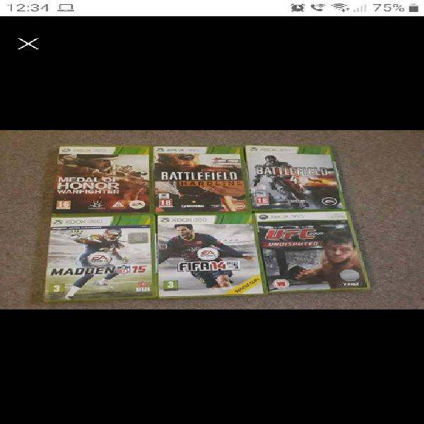 Xbox 360 games for sale (various prices)
