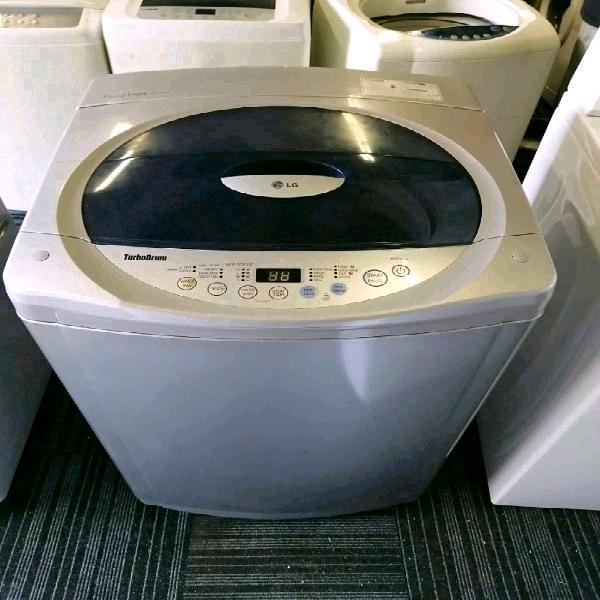 Silver 13kg lg top loader washing machine