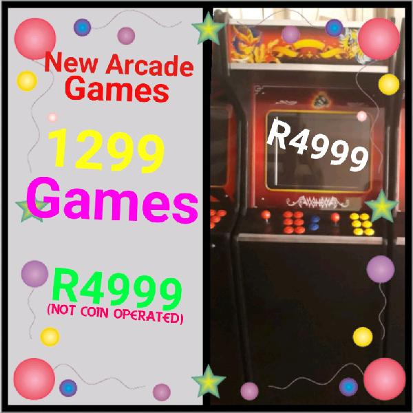 Brand New Arcade Game: 1299 Games Games in 1