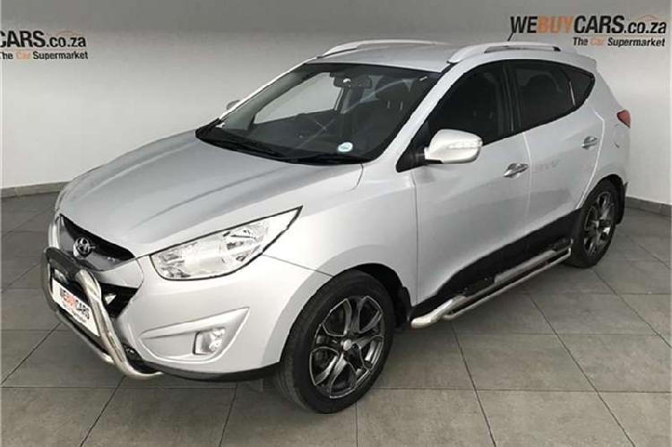 Hyundai ix35 2.4 4wd gls limited 2012