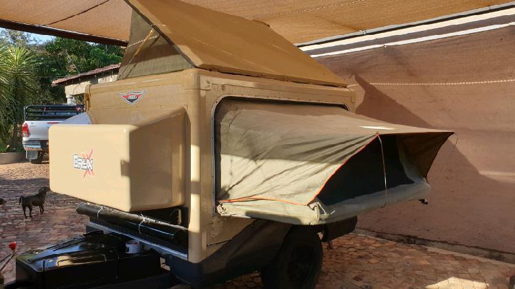 Jurgens oryx off road 4x4 caravan