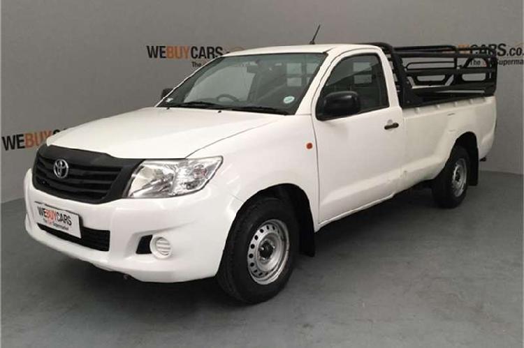 Toyota hilux 2.0 s 2013