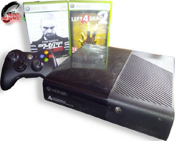 Xbox 360 E 500GB Console with 2 Games