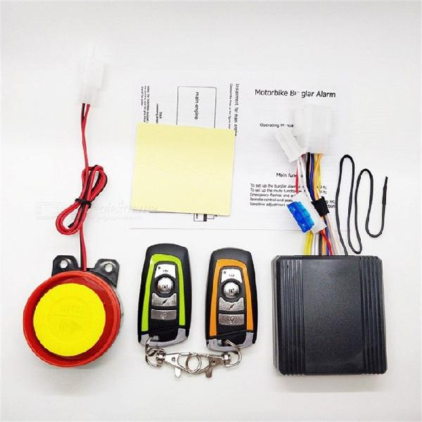 12v motorcycle bike anti-theft horn scooter security alarm