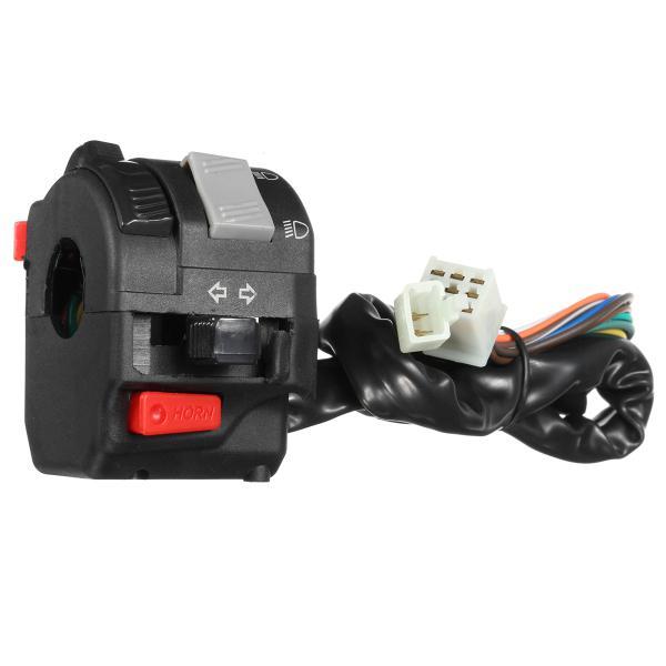 12v motorcycle headlight start switch horn turn signal for