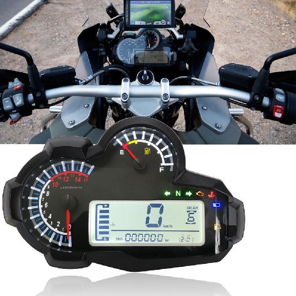 15000rpm led speedometer digital odometer backlight