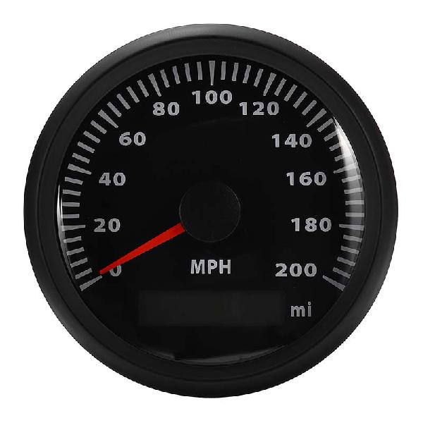 85mm gps speedometer waterproof 200mph gauge digital