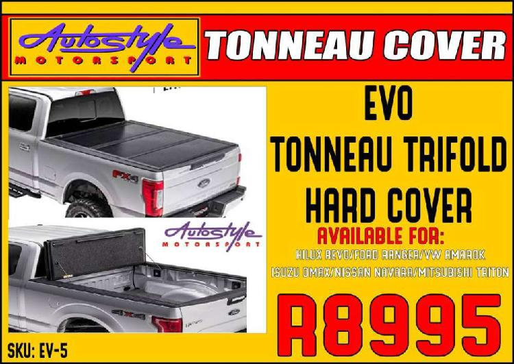 Evo Tonneau Trifold Hard Cover R8995 Available for HILUX