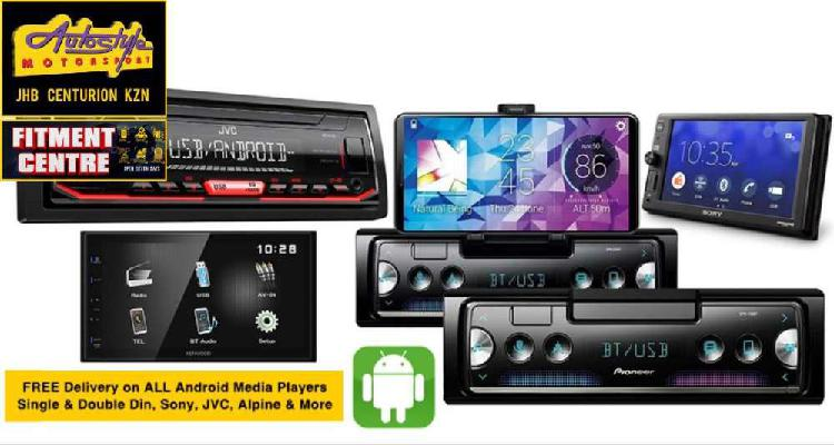 Free delivery on all android media players, single and