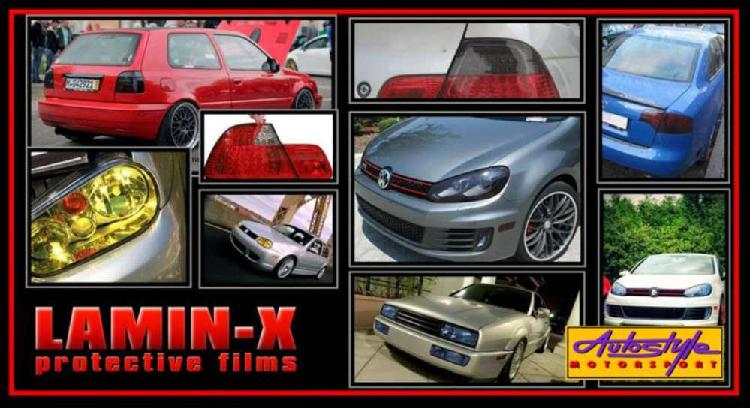 Lamin-x tint protective film - subtle tinted effect for