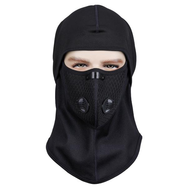 Outdoor full face fleece mask neck warmer ski motorcycle