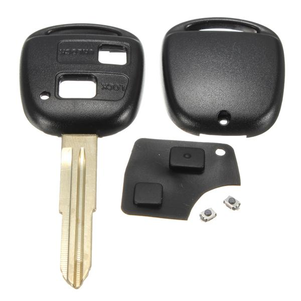 Remote key shell rubber pad switches blade repair kit for