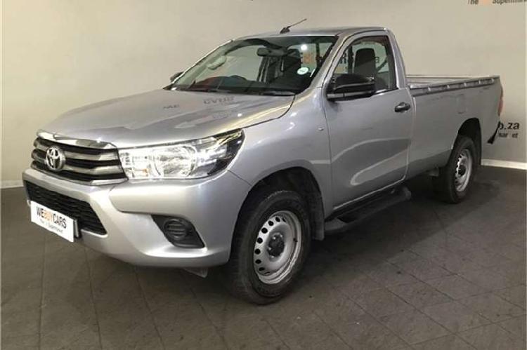Toyota hilux 2.7 srx 2017