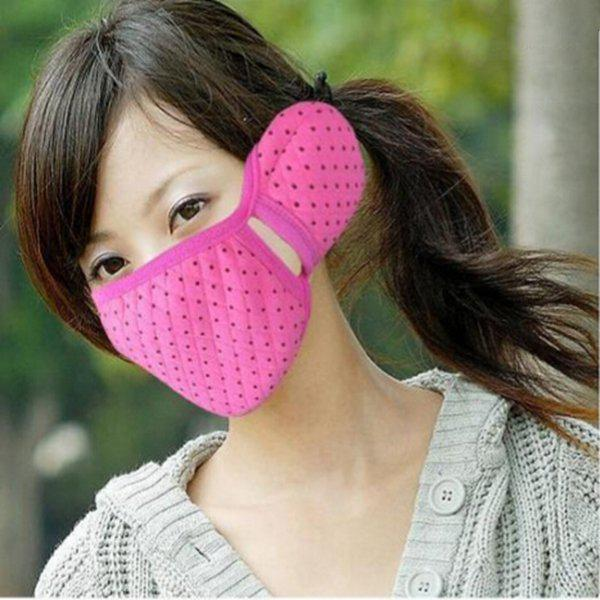 Winter riding sports ear mouth warm mask with ear muffs