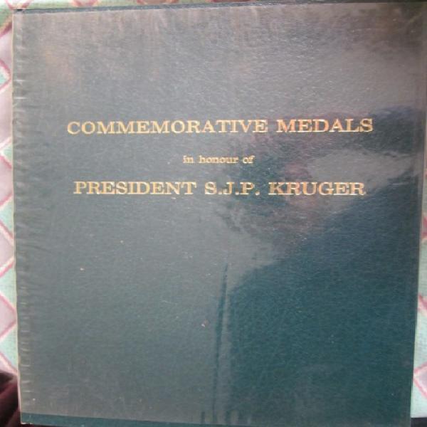Commemorative medals in honour of president sjp
