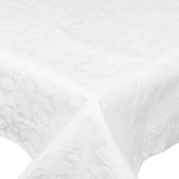 Dsa table linen specialists white palace damask rectangular