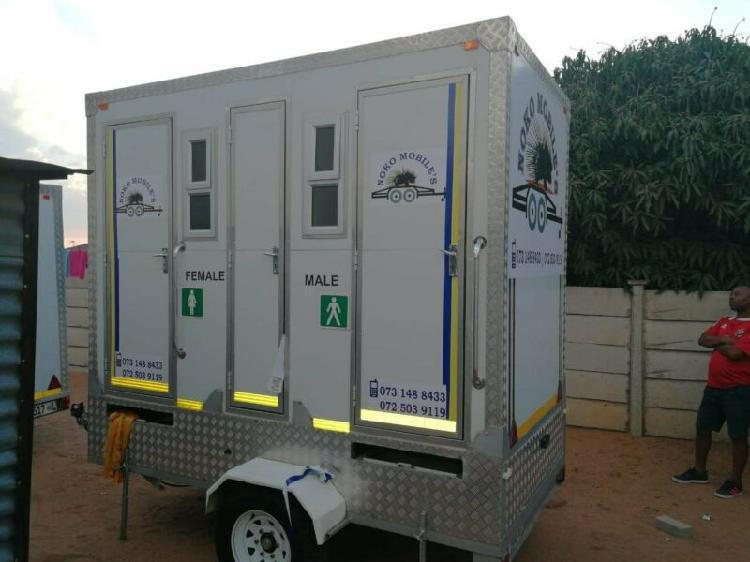 Mobile vip toilets on low low summer prices