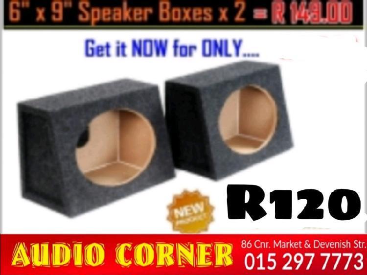 Speaker box 6/9 boxes r129 for pair
