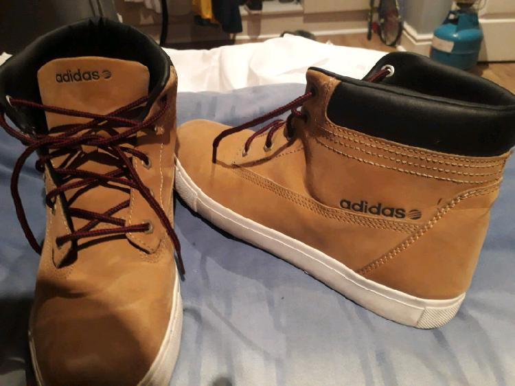 Adidas suede (timberland styled) sneakers