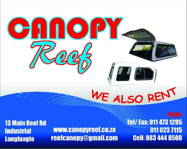 Andycab canopies on special