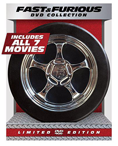 Fast & furious 1-7 collection limited edition