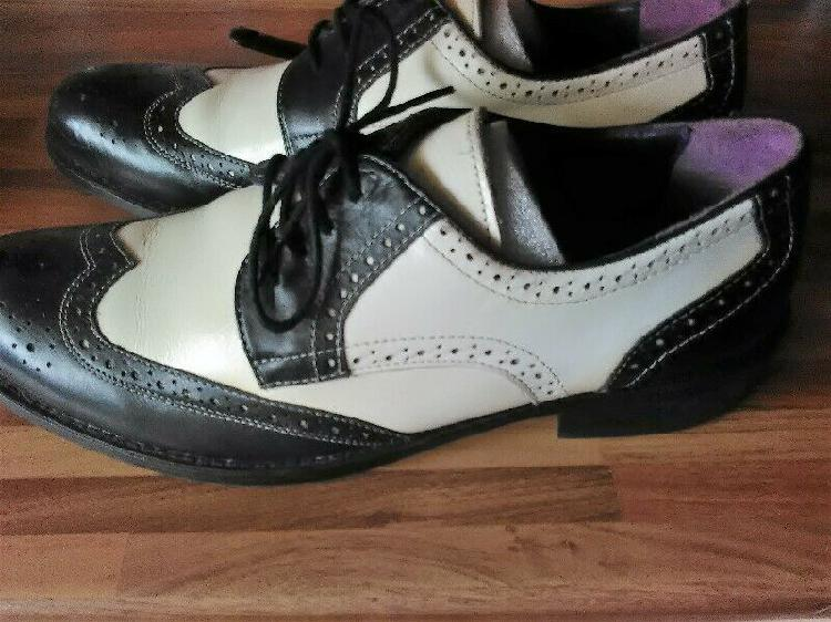 Gucinari two tone shoes for sale