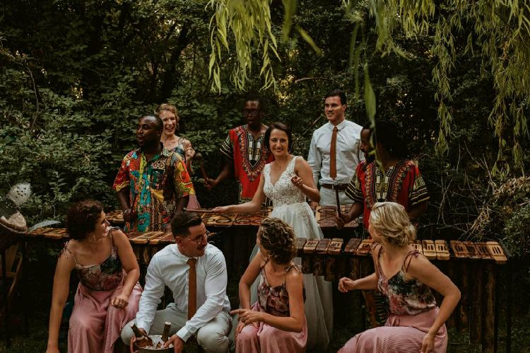 Marimba band for your wedding