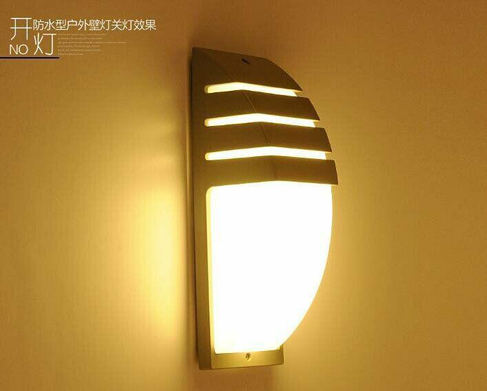 Outdoor waterproof led wall lamps ac90-260v aluminum
