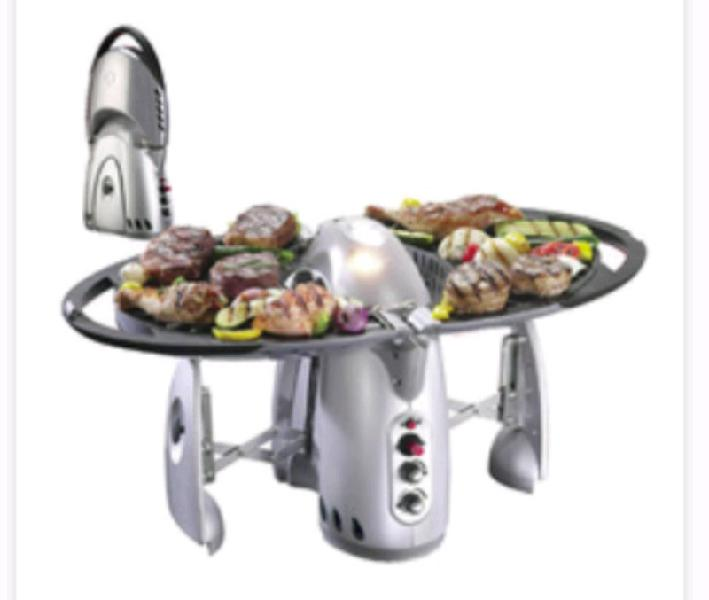 Q bbq thane portable barbeque grill