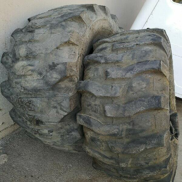 Used 16.9 - 28 tlb tyres with tubes for sale