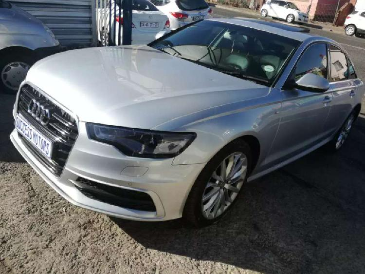 2013 audi a6 s-line 2.0tfsi automatic with sunroof.