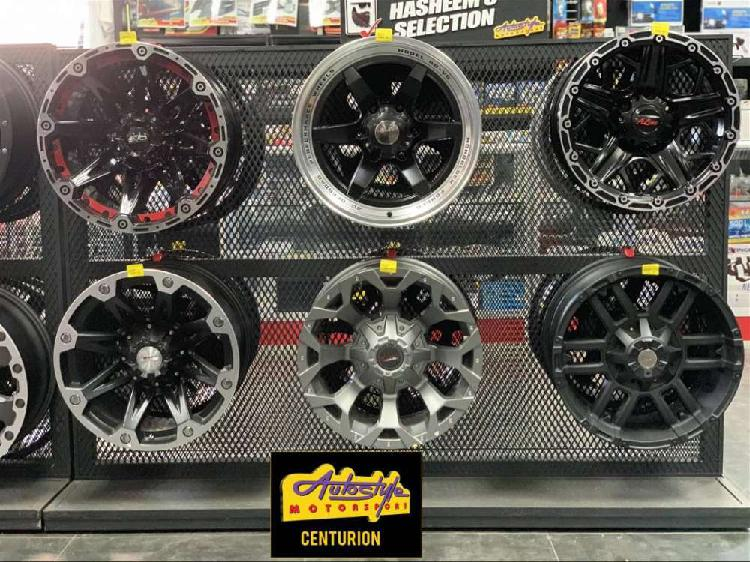 Bakkie mags, rims, alloy wheels and tyres suitable to fit