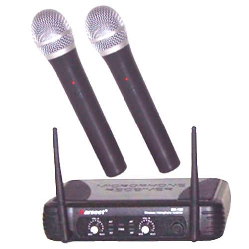 Karsect wr15d uhf wireless microphone