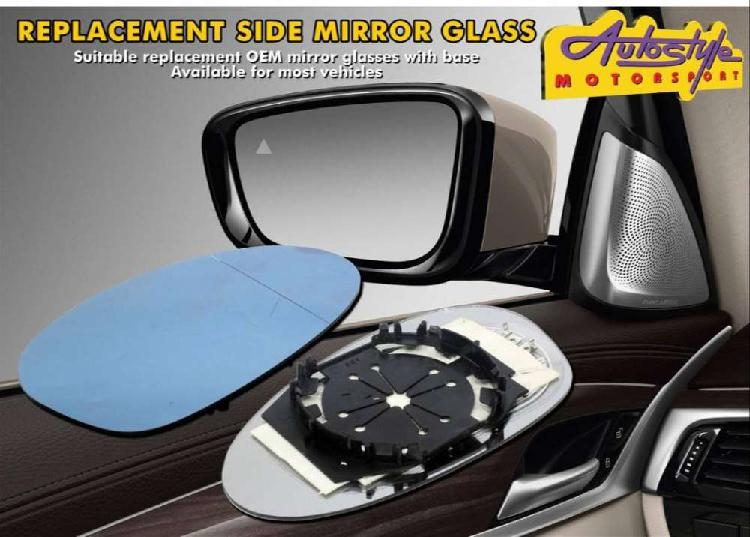 Mirror glasses suitable replacement mirrors and bases
