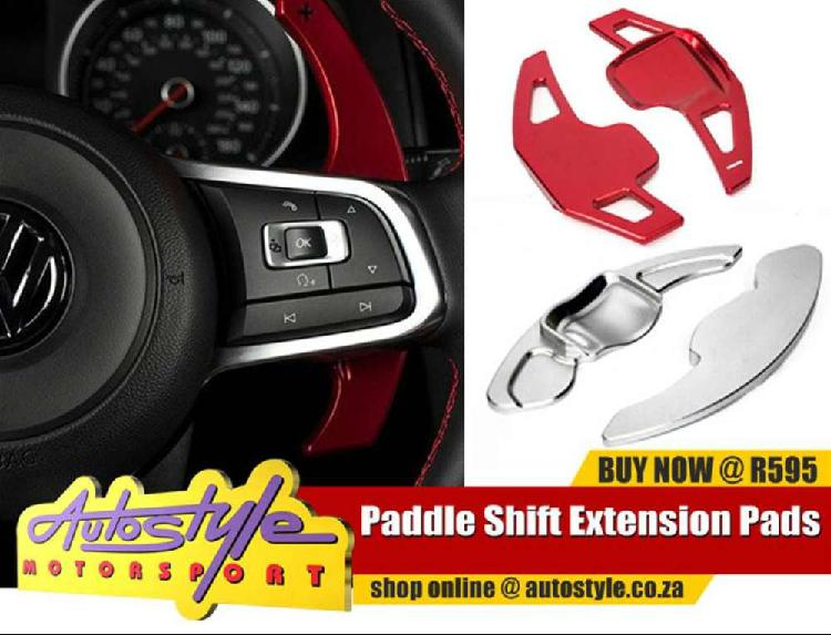 Pedal shift extension pads suitable to fit vw golf6,bmw