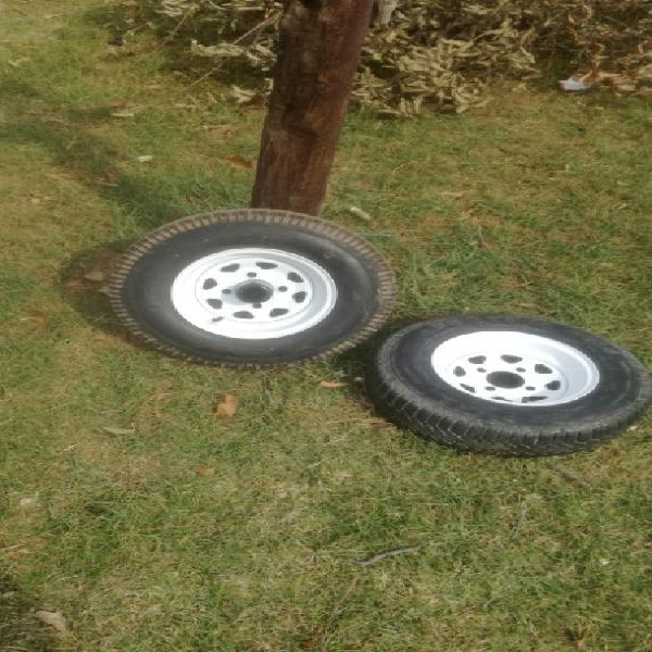 145/80 10 rims and tires
