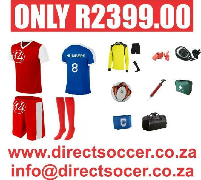 Big big sale on soccer kits now on!!!!