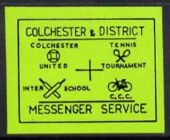 Cinderella - great britain 1990 colchester & district