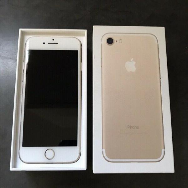 Iphone 7, 32gb. gold. immaculate! (trade-in's on other