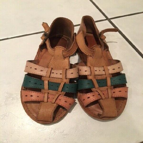 Ladies imported leather sandals