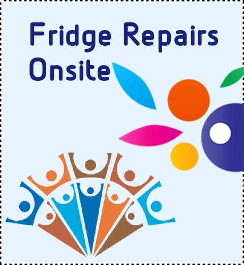 Refrigerator repair and regas onsite
