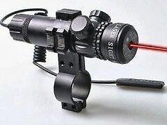 Red dot laser syt outside adjust - 2 switch rail mounts box