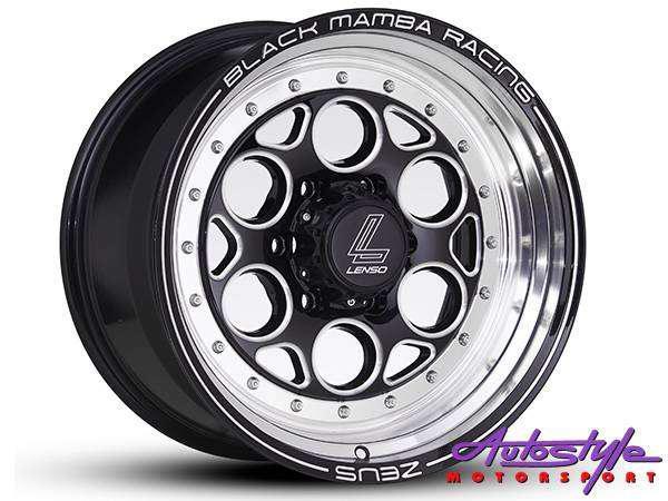 18 inch lenso zeus bakkie alloy wheels suitable bakkies,