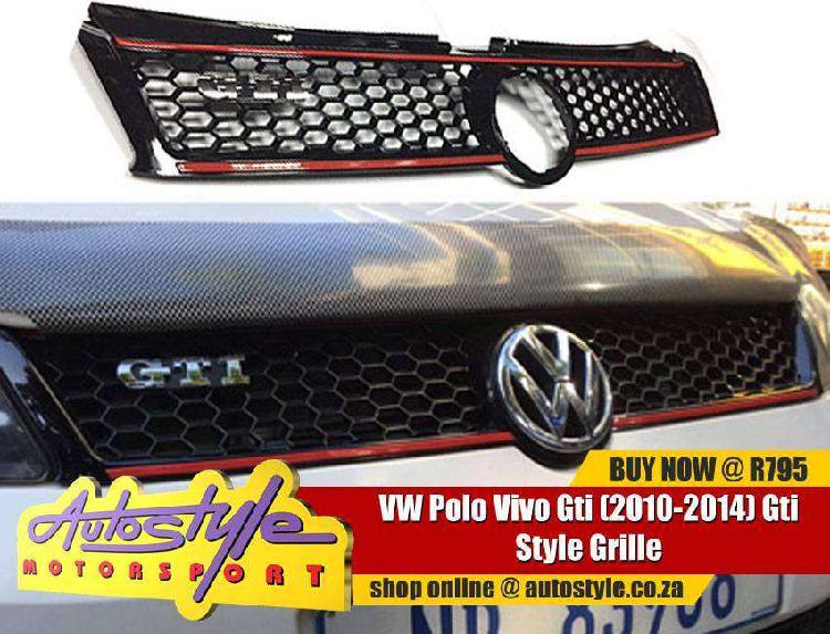 2014 vw polo gti grille kit exc badge- full range