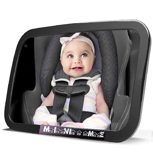 Baby car mirror for back seat | view your child in rear