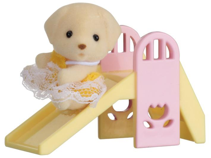 Baby carry case (dog on slide)