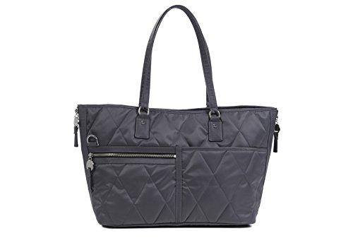 Danzo diaper bags lexington, slate with burnt orange