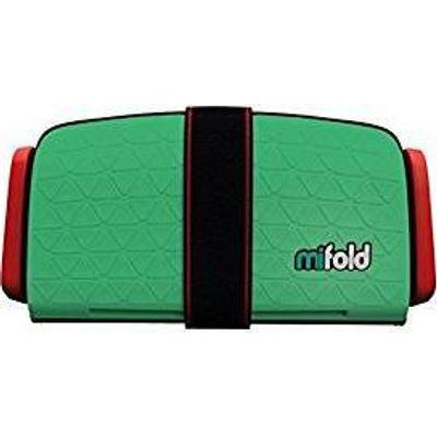 Mifold grab & go car booster seat (lime green)