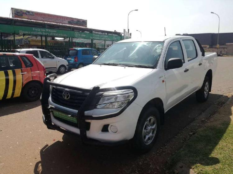 Toyota hilux 2.5d-4d srx 4x4 p/u d/c